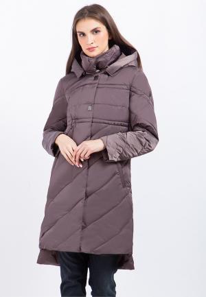 Куртка утепленная Finn Flare. Цвет: фиолетовый