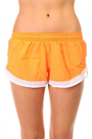 Шорты пляжные женские  Tafetб Shorts Orange CajuBrasil. Цвет: оранжевый