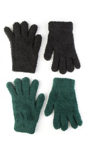 Перчатки, Перчатки ТВОЕ. Цвет: зеленый
