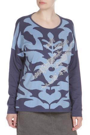 Пуловер Eugen Klein. Цвет: сине-голубой