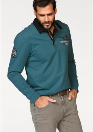 Джемпер MANS WORLD MAN'S. Цвет: зелено-синий