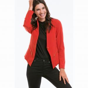 Куртка ELLOS. Цвет: красный