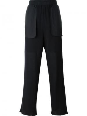 Спортивные брюки Pulya Damir Doma. Цвет: чёрный