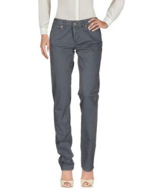 Повседневные брюки P.A.M. PERKS AND MINI. Цвет: темно-синий