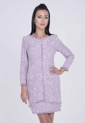 Платье Лярго. Цвет: розовый