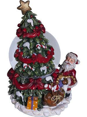 Снежный шар Mister Christmas. Цвет: зеленый