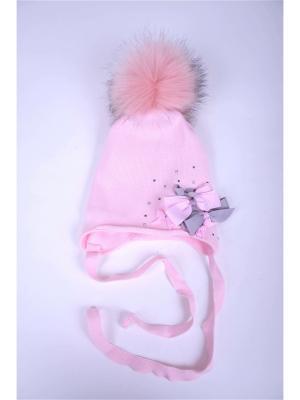 Шапка ARDI Collection. Цвет: розовый