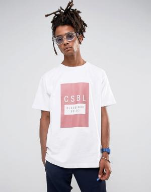 Cayler & Sons Белая оверсайз-футболка. Цвет: белый