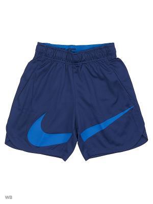 Шорты B NK SHORT VENT GFX Nike. Цвет: темно-синий, лазурный