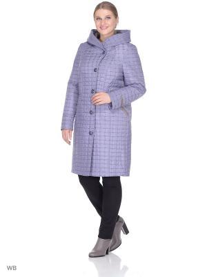 Пальто MONTSERRAT. Цвет: голубой