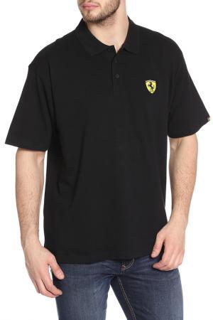 Поло Ferrari. Цвет: черный