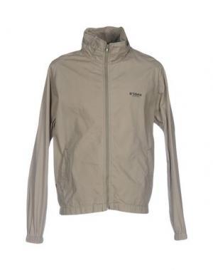 Куртка BSBEE. Цвет: зеленый-милитари