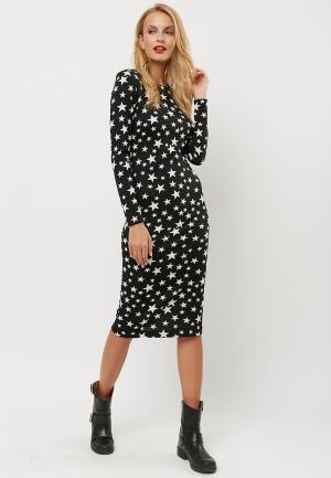 Платье Verna Sebe. Цвет: черно-белый