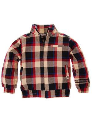Куртка Plaid Workman Jacket Mini Shatsu. Цвет: красный, коричневый, голубой