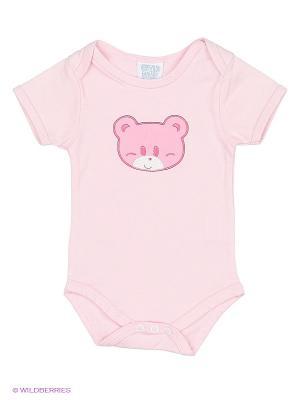 Боди Cutie Bear. Цвет: бледно-розовый, кремовый