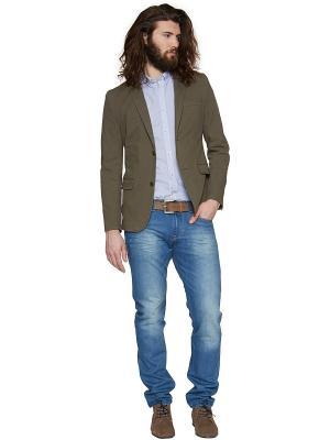 Пиджак TOM TAILOR. Цвет: хаки