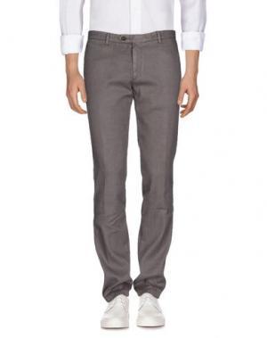 Джинсовые брюки MAESTRAMI. Цвет: свинцово-серый