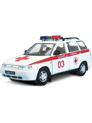 Машина LADA 111 скорая помощь AUTOTIME. Цвет: белый