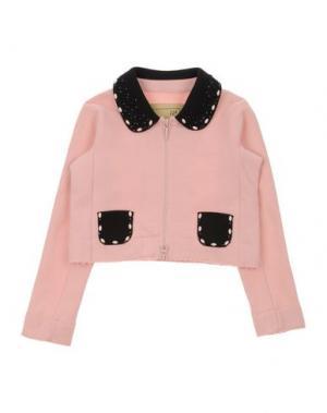 Пиджак MIMISOL. Цвет: розовый