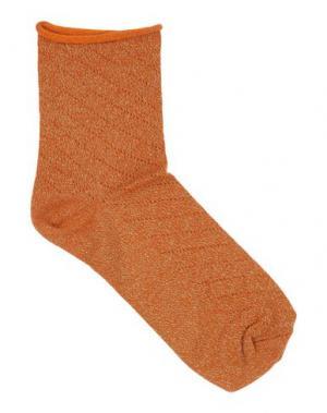 Короткие носки POLDER. Цвет: ржаво-коричневый