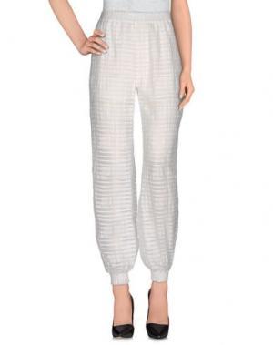 Повседневные брюки CO. Цвет: белый