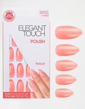 Elegant Touch Накладные ногти. Цвет: розовый