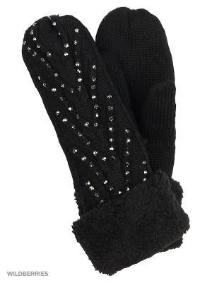 Варежки Punta. Цвет: черный