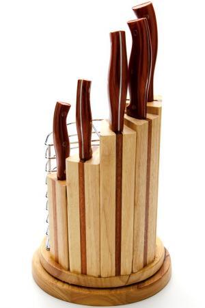 Набор ножей 10 пр. Mayer&Boch. Цвет: коричневый