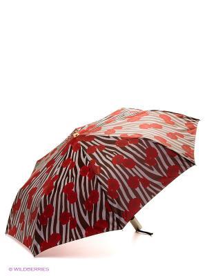 Зонт Stilla s.r.l.. Цвет: коричневый, красный