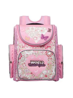 Рюкзаки Grizzly. Цвет: розовый
