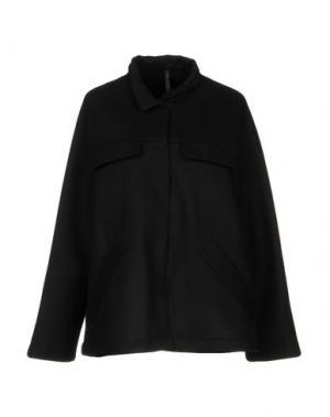 Пальто SARA LANZI. Цвет: черный
