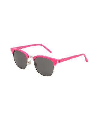 Солнцезащитные очки Saint Laurent. Цвет: розовый