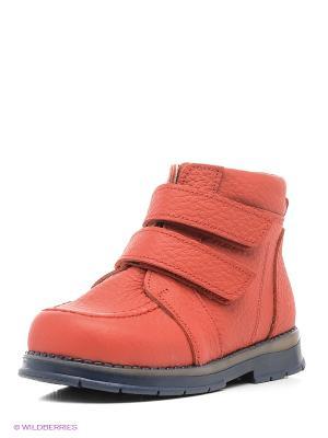 Ботинки ТАШИ ОРТО. Цвет: красный