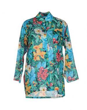 Pубашка HARVEY FAIRCLOTH. Цвет: темно-синий