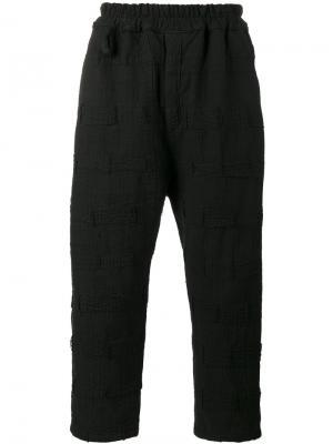 Укороченные брюки Morton By Walid. Цвет: чёрный
