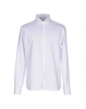 Pубашка NO BRAND. Цвет: белый