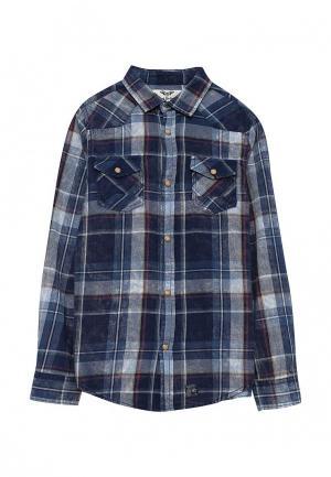 Рубашка Blukids. Цвет: синий