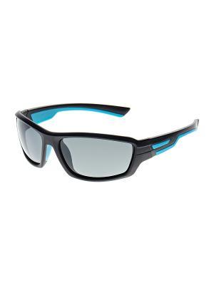 Очки солнцезащитные Infiniti. Цвет: черный, голубой
