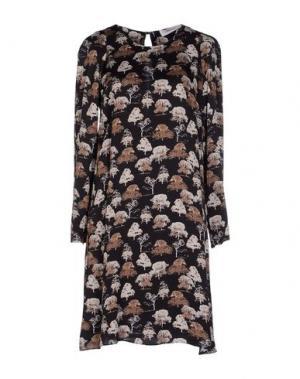 Короткое платье JUCCA. Цвет: черный