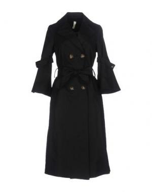 Легкое пальто SOUVENIR. Цвет: черный