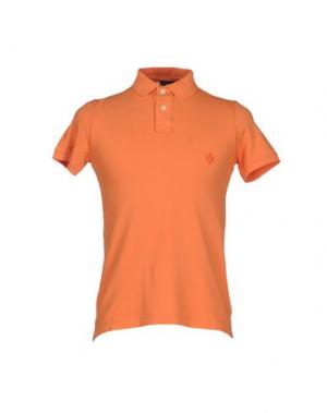 Поло NEW ENGLAND. Цвет: оранжевый