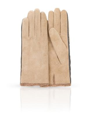 Перчатки Dali Exclusive. Цвет: бежевый, серый