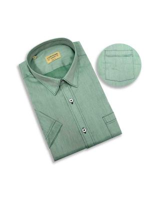 Рубашка мужская Corleone.. Цвет: зеленый