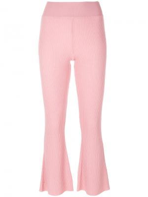 Брюки Candiss Cashmere In Love. Цвет: розовый и фиолетовый