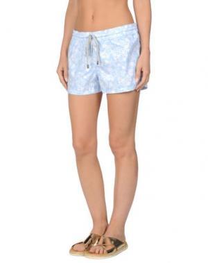 Пляжные брюки и шорты VILEBREQUIN. Цвет: небесно-голубой