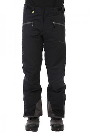 Штаны сноубордические  Boundry Black Quiksilver. Цвет: черный