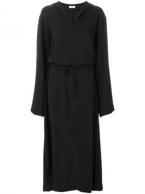 Платье Mirabel Toteme. Цвет: чёрный