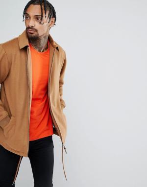New Era Спортивная куртка Premium. Цвет: рыжий