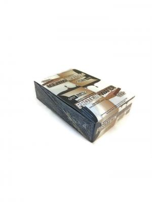 Вафли PROTEIN WAFER BAR  (шоколад) 12 шт QNT. Цвет: коричневый, белый