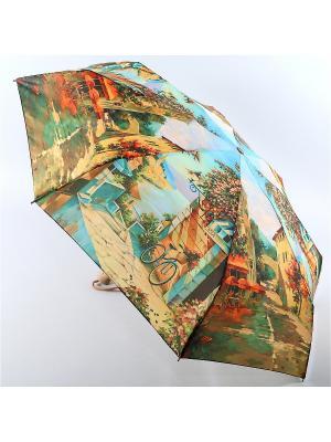 Зонт Zest. Цвет: бежевый, зеленый